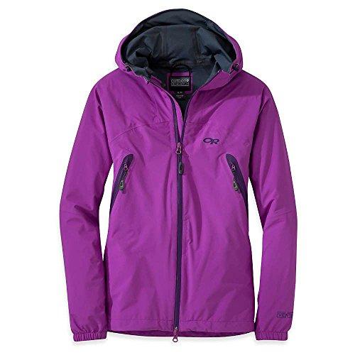 Outdoor Research Allout Veste à capuche pour femme, ultraviolet, M