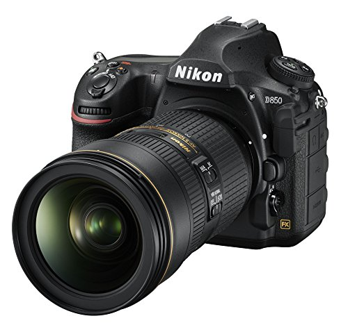 Nikon D850 FX-format Digital SLR Camera Body w/ Nikon AF-S FX NIKKOR 24-70mm f/2.8E ED Vibration Reduction Zoom Lens with Auto Focus