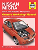 Nissan Micra: 03-10 by Haynes Publishing(2015-05-22)