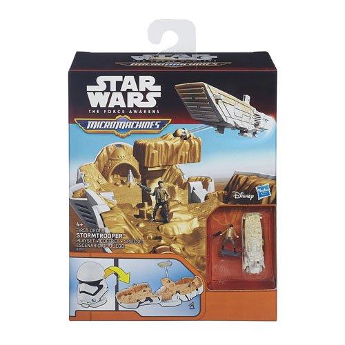 Hasbro - Star Wars Micro Machines B3512 Escenario de juego, R2-D2, Surtido: modelos/colores aleatorios