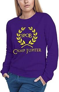 Felpa con Cappuccio Donna Camp Jupiter Percy Jackson 50/% Cotone