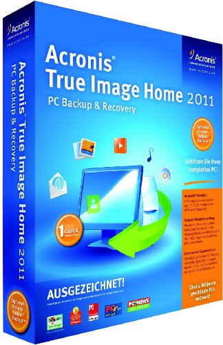 Acronis True Image Home 2011 (1 PC)