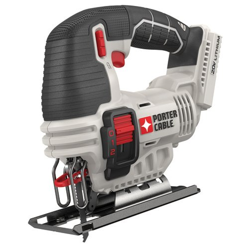 Product Image 2: PORTER-CABLE 20V MAX Jig Saw, Tool Only (PCC650B)