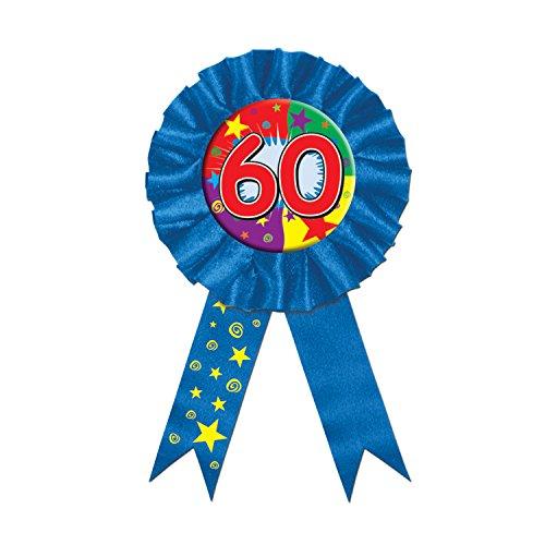 Beistle - 60414-60 - 60 Ribbon Award - Lot de 6