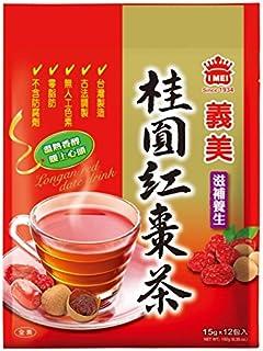 《義美》 桂圓紅棗茶/(龍眼・ロウガンナツメ茶)(12包/袋) 《台湾 お土産》 《台湾 お土産》 [並行輸入品]