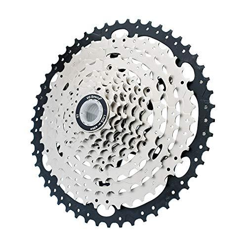 10 Velocidad Super Light Bicicleta Casete, 11-50T Bicicleta de MontañA En Rueda Libre, Bicicletas de Reemplazo de Accesorios, Adecuados para Shimano y Sram Gear Shift Kit