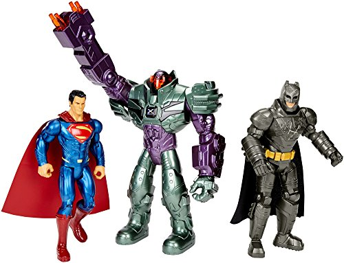 Mattel DHY28 - Fantasy, Batman vs Superman, Dawn of Justice Basisfiguren 3-er Pack