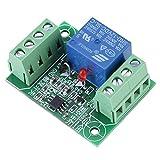Mdulo de Control de Rel Interruptor de Rel Biestable de 1 Canal DC 12V