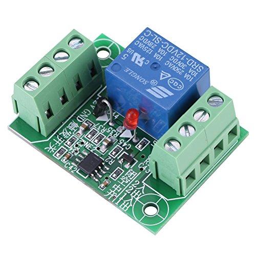 Módulo de Control de Relé Interruptor de Relé Biestable de 1 Canal DC 12V
