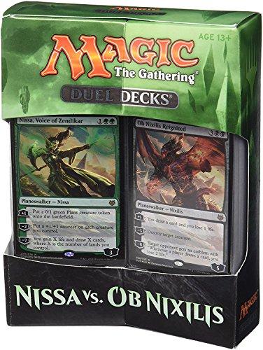Magic The Gathering 14443 Nissa VS OB Nixilis Doppeldeck-Spielkarten