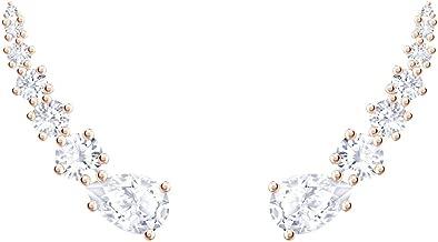 Swarovski Crystal Penélope Cruz Moonsun Clear Earrings, Rose Gold-Tone