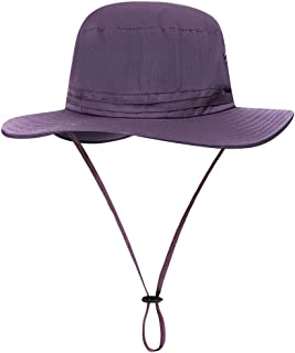Gecheer Sun Hat UV Protection Summer Cap Wide Brim for Fishing Hiking Mountaineering