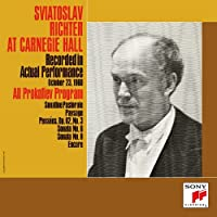 At Carnegie Hall 1960 Volume 2 by SVIATOSLAV RICHTER (2015-02-25)