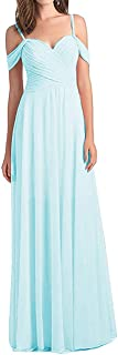 H.S.D Off Shoulder Bridesmaid Dress Spaghetti Strap Bridesmaid Gowns Long Prom Evening