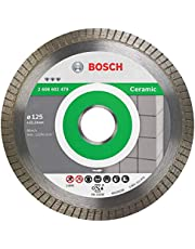 Bosch Professional Diamantdoorslijpschijf Best For Ceramic Extra-Clean Turbo (Keramiek, 125 x 22,23 mm)