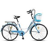 One plus one Damen Schritt Durch Das Niederländische Stil Fahrrad, Damen Klassisches Traditionelles...