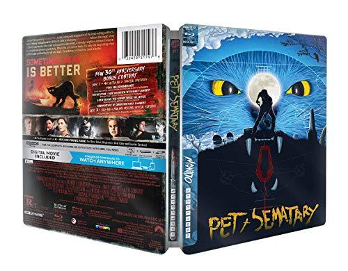 Friedhof der Kuscheltiere 4K, Pet Sematary 4K, Steelbook, Blu-ray 4K + 2D mit deutschem Ton, EU-Import,