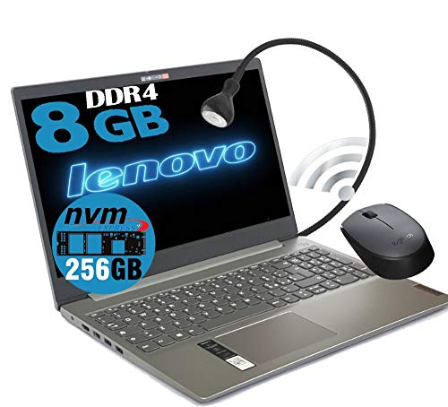 Portátil Lenovo Cpu A4 9125 de hasta 2,6 GHz, pantalla de 15,6 pulgadas HD, DDR4 4 GB, SSD de 256 GB, Radeon R3, Wi-fi, Lan, Bt, Win10 Pro, Antivirus, listo para usar....