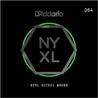 D'Addario NYNW064 NYXL Nickel Wound Electric Guitar Single String