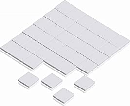 Wathai Off-White 36pcs 15x15x1.0mm Thermal pads Silicone Pad For GPU CPU PS3 PS2 Xbox Heatsink Cooling