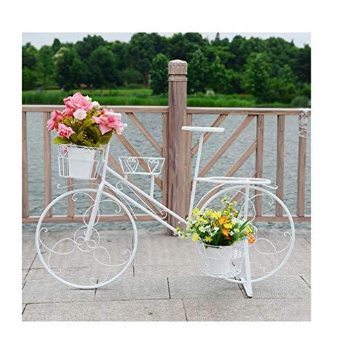 LBBGM Supporto per Piante in Triciclo in Metallo - Supporto per Piante, Supporto per Piante in Vaso in Ferro da Bicicletta, Decorazione da Giardino per Piante da Interno, Esterno, deposito