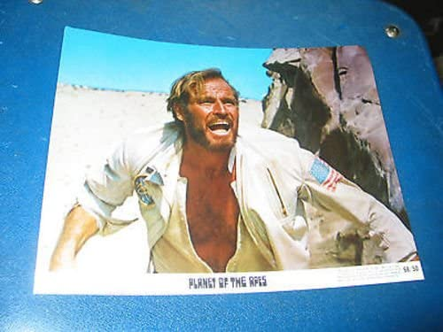 Challenge the lowest price of Japan PLANET OF THE APES ORIGINAL 8X10 Popular standard CARD SET LOBBY CHARLTON HEST