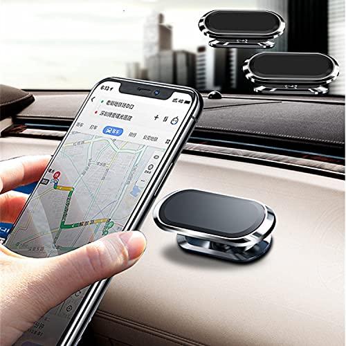 Supporto Per Cellulare Da Auto , Supporto Magnetico Rotante a 360 gradi, Supporto Magnetico Universale Per Cruscotto, Adatto per iPhone Huawei Samsung, GPS ecc. ( 2pack )