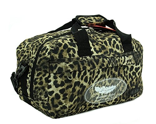 GSS , Trolley Multicolore Leopardato carry-on