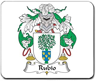 Rubio Family Crest Coat of Arms Mouse Pad