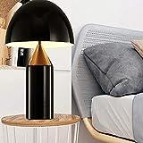 Dightyoho Lámpara Escritorio Diseo Minimalista posmoderno Creativo decoración de Setas lámpara de Mesa Elegante Personalidad cálida Estudio Dormitorio lámpara de Noche