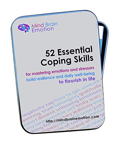 52 Essential Coping Skills: for Stress Management, Anxiety Relief - Exercises to Build Emotional Resilience, Confidence, Positivity and Well-Being - Created by Harvard Educator for Therapy & Self Care