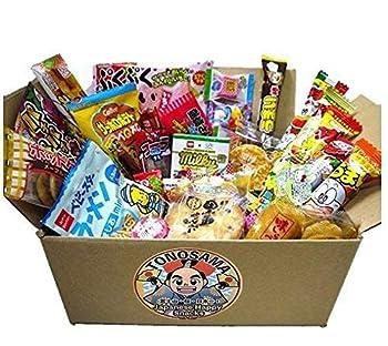 Japanese snacks assortment 30pcs  full of dagashi  TONOSAMA