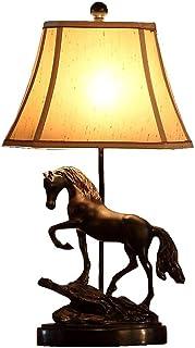 Créative Lampe de Table Chambre Table de Chevet Art Personnalisée Cheval Lumière Lampe d'apprentissage Bureau Lampe Entrée...