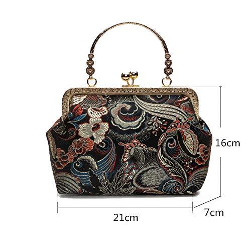 Bolso de mano, femenino, personalizado, bolso de boda, portátil, bolso de novia,...