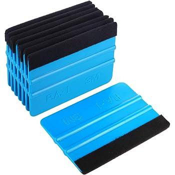 Cutter Suqeegee EEFUN 9 tipi di Auto Vinile Wrap set per Pellicola Solare // Tinta Finestra tra Cui Raschietto