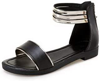 BalaMasa Womens ASL06842 Pu Flats Sandals
