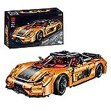 WXFXBKJ Bloques de construcción de autos deportivos, MOC Building Bricks and Engineering Toy Toy Compatible con todas las marcas principales Modelo de colección Cars Bricks Juguete Juguete Juego de co