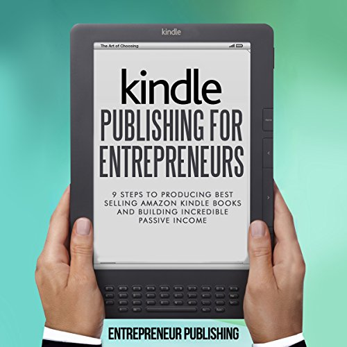 Kindle Publishing for Entrepreneurs audiobook cover art