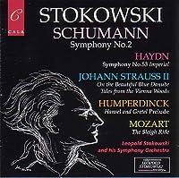Schumann: Symphony No. 2 / Haydn: Symphony No. 53 - Imperial / Humperdinck / J. Strauss II / Mozart ~ Stokowski (2002-06-11)