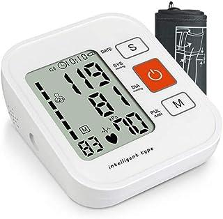 Life HS Monitor de presión Arterial electrónico Brazo Superior Instrumento de medición de presión Arterial electrónico de Voz de Alta precisión automático