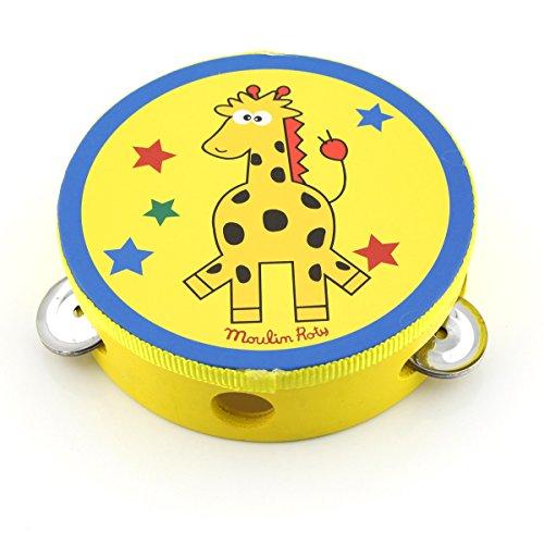 Owfeel(TM) coloré musicale jouet bébé enfants Dessin animé Clochette Clap tambour Tambourin & # nitrure ; aléatoire Livraison et Carbide PCB ;