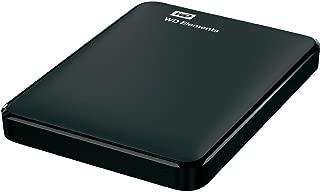 Western Digital Elements 1TB Portable External Hard Drive (Black)