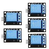 CHENBO 5pcs/lot 5V 1 Channel Relay Module Board Shield Relay Board Ky-019