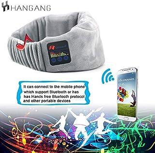 Anti Bruit Sommeil Bandeau,/étanche Casque Musique Anti Bruit Sommeil Casque de Sommeil Bluetooth Parfait pour Sport,Dormeurs Lat/éraux,Voyage,M/éditation et Relaxation