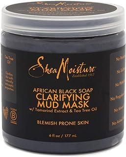 Shea Moisture African Black Soap Clarifying Mud Mask, 177 ml