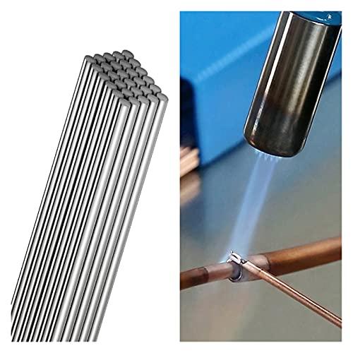 Barras de soldadura simples de baja temperatura Fácil fusión de aluminio Flojado de aluminio electrodos de soldadura de alambre Barras de soldadura de alambre Batería del automóvil de la batería Conch