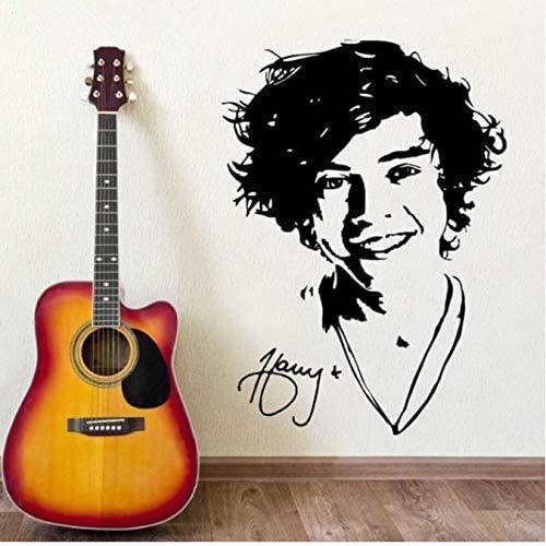 Harry Styles The Singer One Direction Wandkunst Wandaufkleber Bild Aufkleber Papier Postergraphic 56 * 78Cm