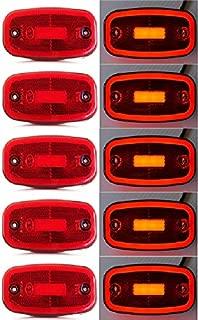 GZN-TSLIGHT luz de la Vuelta Que Fluye de la se/ñal de luz Intermitente secuencial for Opel Vectra C 2002-2008 for Opel Signum 2003-2008 Led din/ámico Marcador Lateral