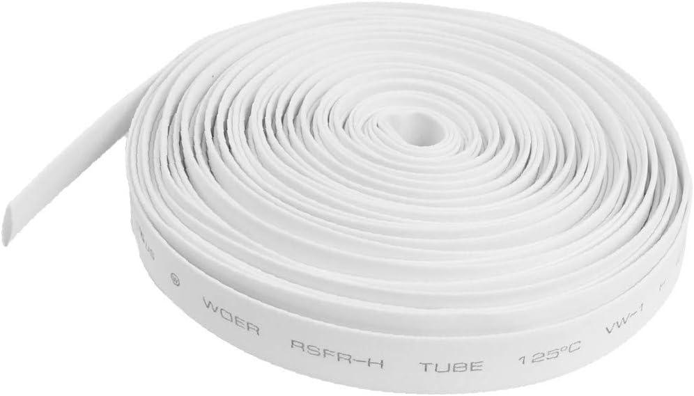 X-DREE Time sale Ratio 2:1 7mm Dia White Tube Shrinkable Heat Polyolefin 1 Denver Mall