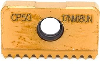 2 Pack SECO Carbide Laydown Threading Insert 17NM 18UN CP50 36529